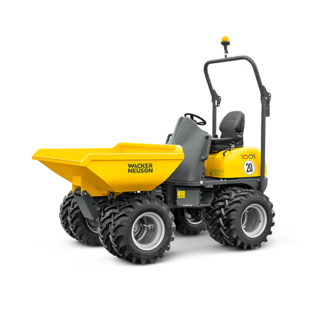 Wacker Neuson Four-wheeled Dumper